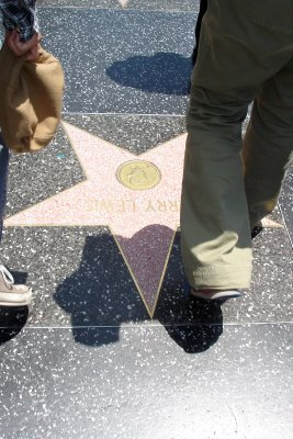Jerry Lewis Star in Hollywood